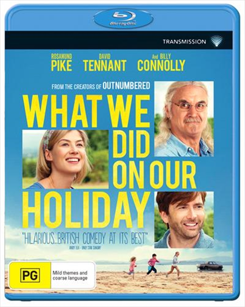 What We Did On Our Holiday | Blu-ray
