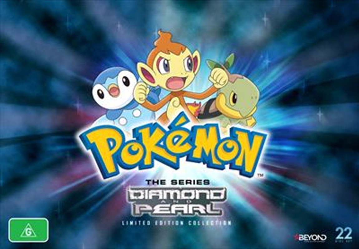 Pokemon - Diamond and Pearl Generation - Limited Collector's Edition | DVD