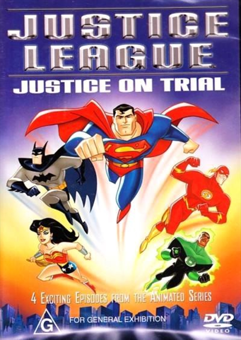 Justice League - Justice On Trial | DVD