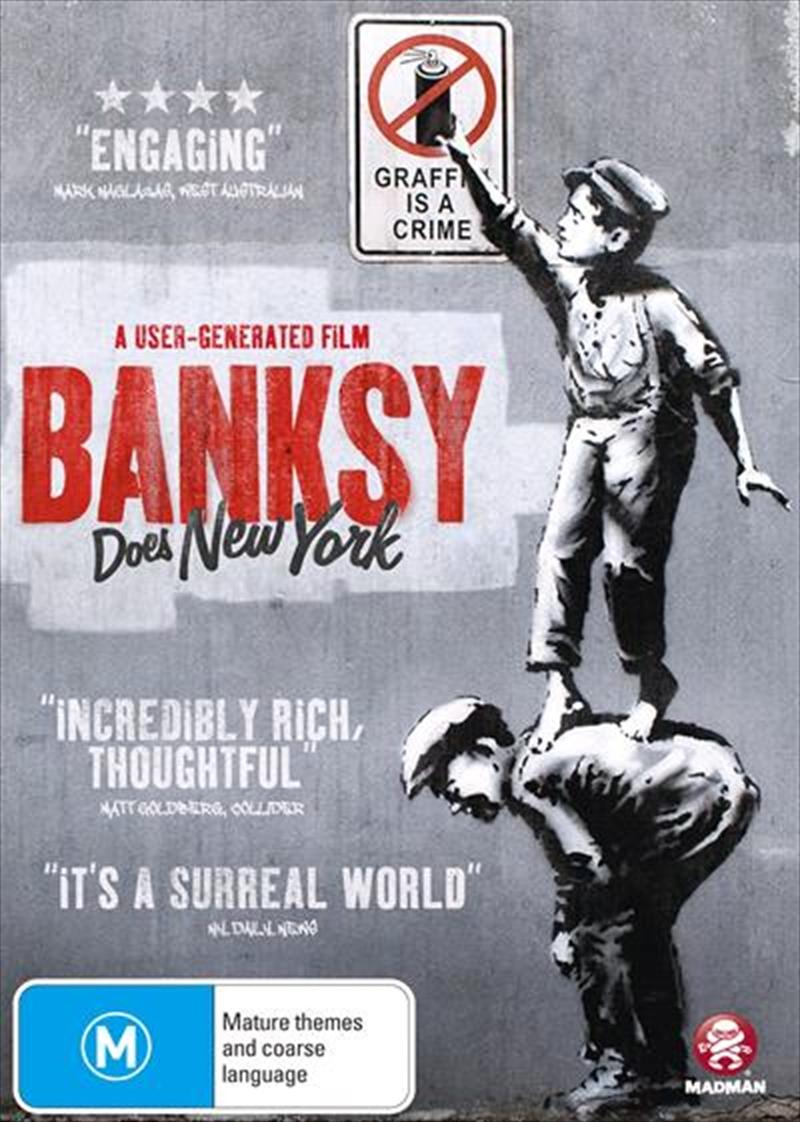 Banksy Does New York   DVD