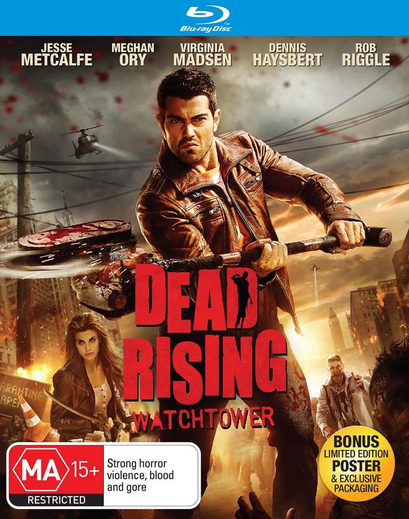 Dead Rising Watchtower Exclusive Edition Horror Blu Ray Sanity