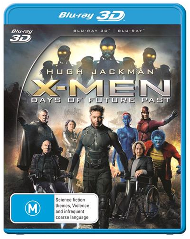 X-Men - Days Of Future Past | Blu-ray 3D