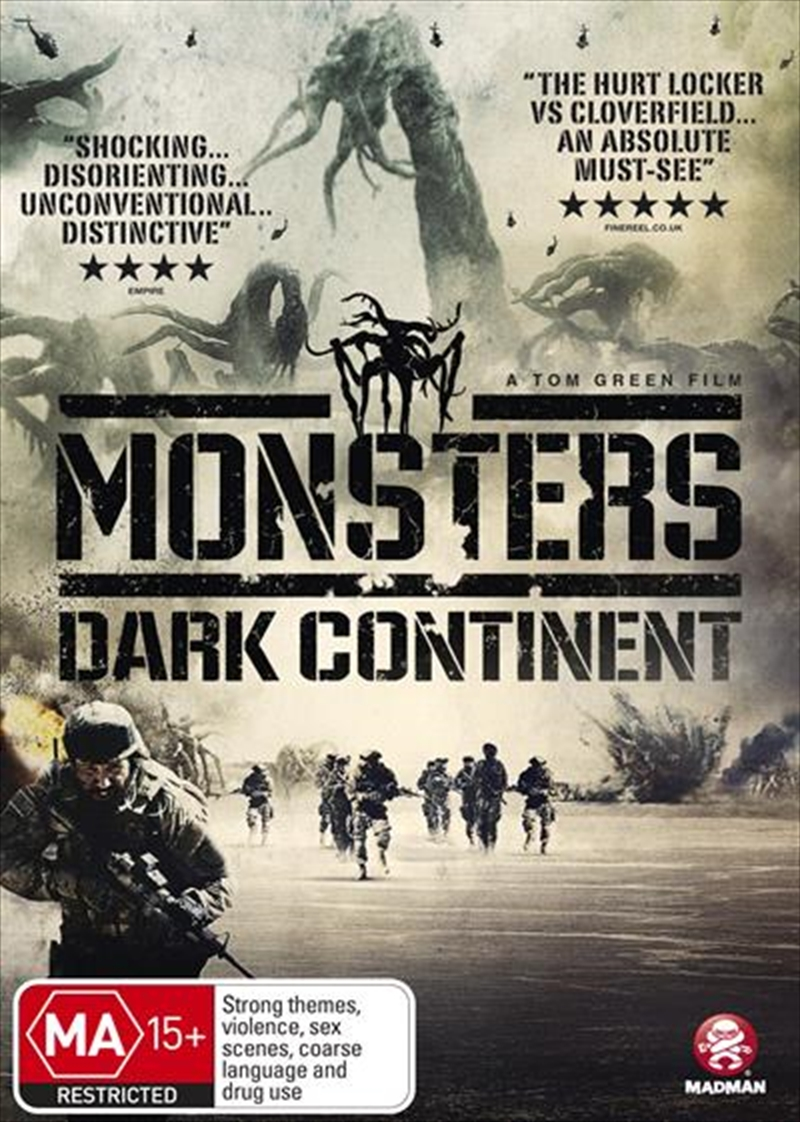 Monsters - Dark Continent | DVD