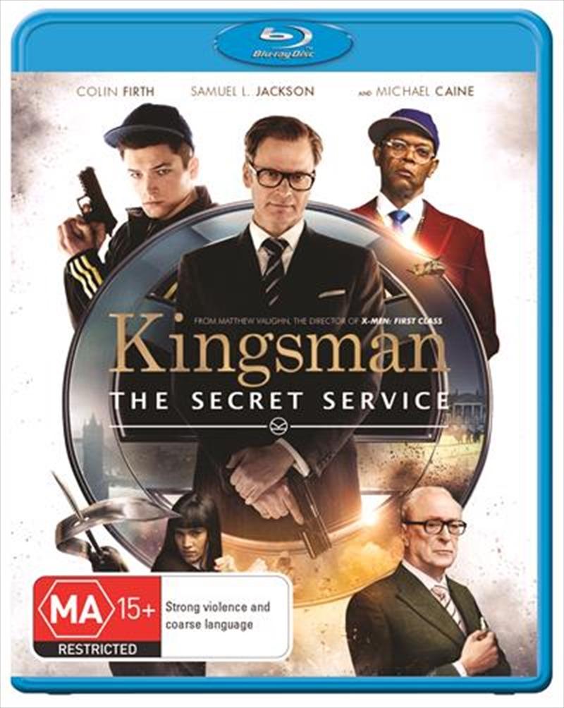 Kingsman - The Secret Service   Blu-ray