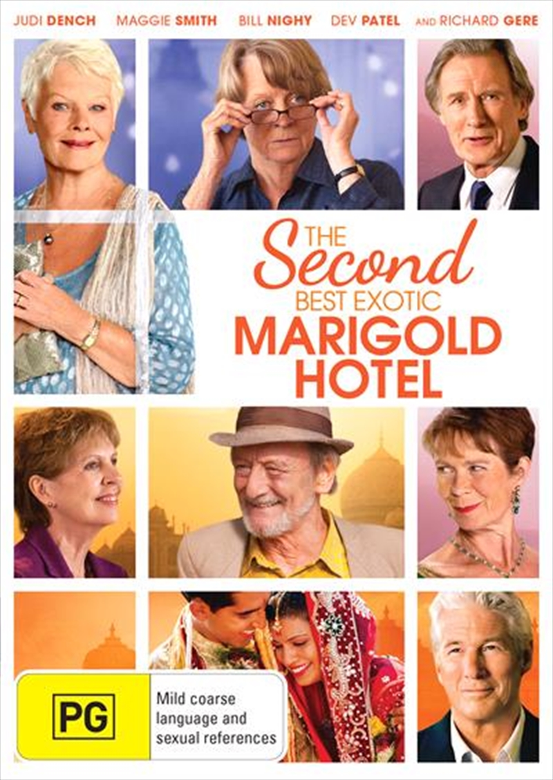 Second Best Marigold Hotel, The   DVD