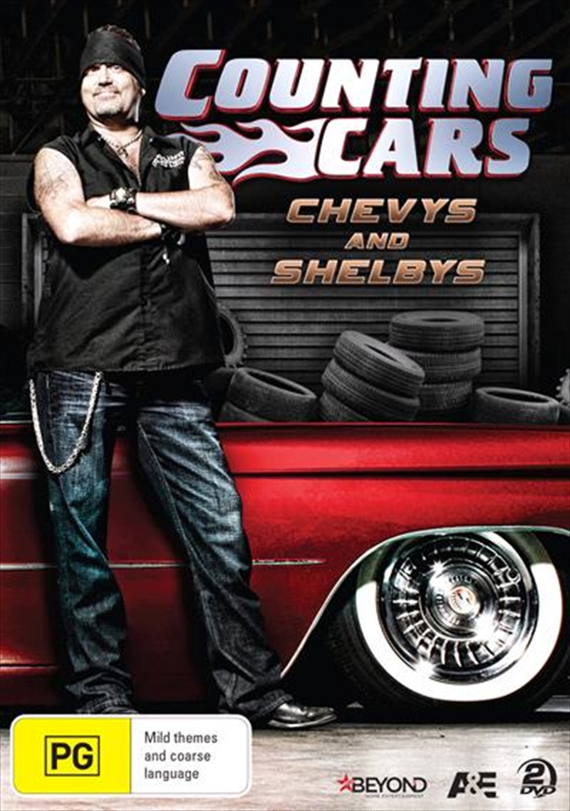 Counting Cars - Chevys And Shelbys | DVD