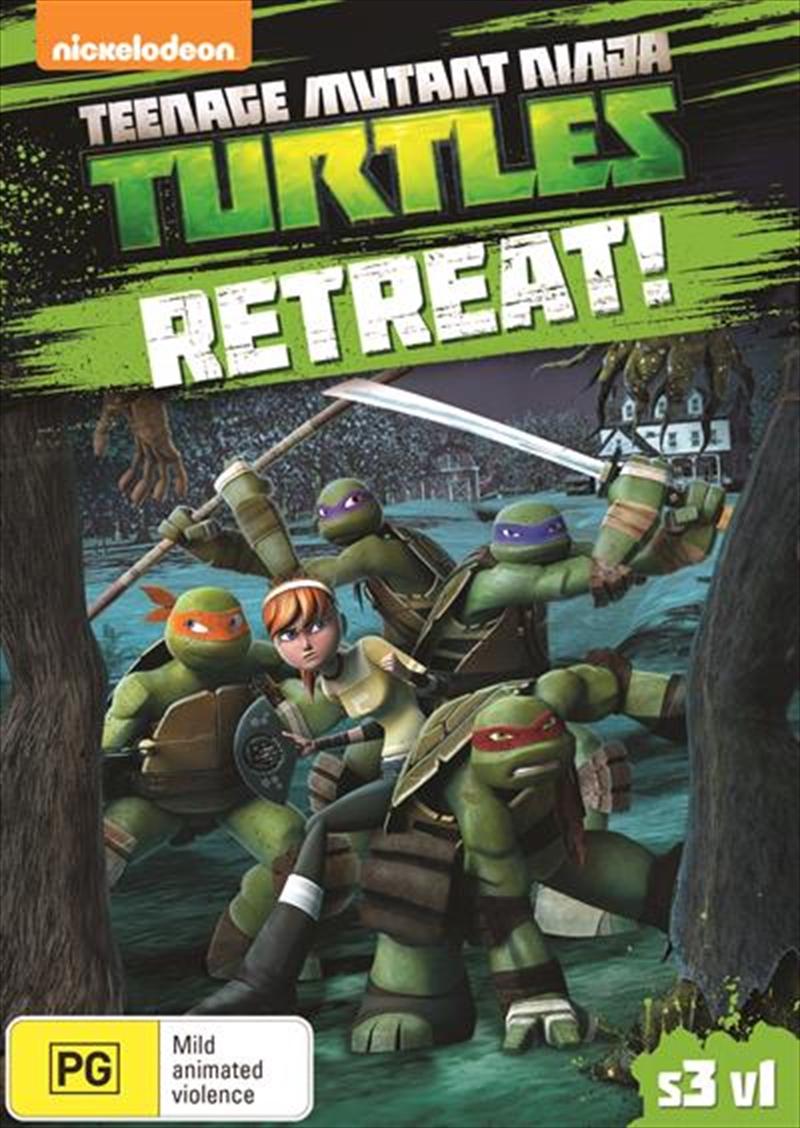 Teenage Mutant Ninja Turtles - Retreat!   DVD