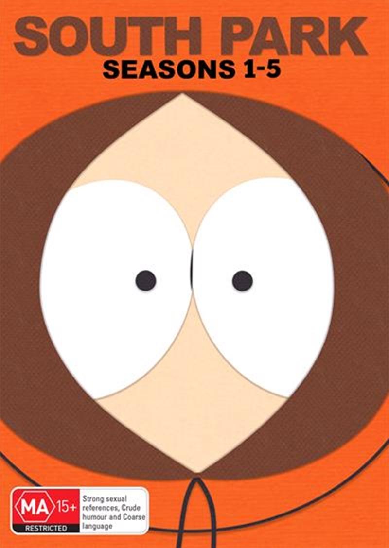 South Park - Season 1-5 | Boxset | DVD