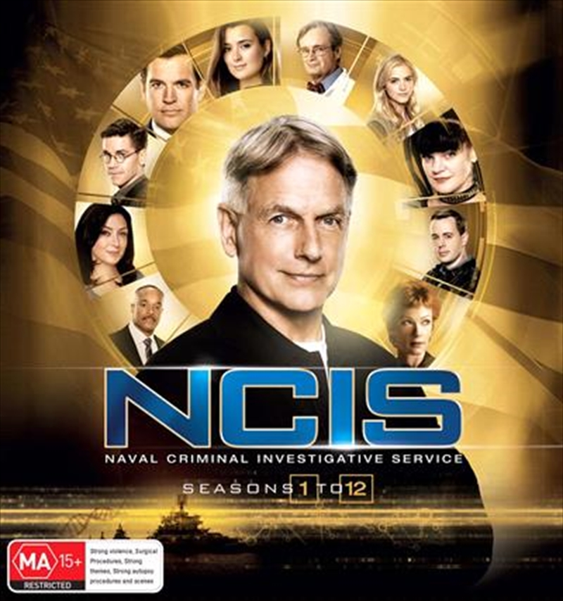 Buy Ncis Season 1 12 Boxset On Dvd Sanity Online