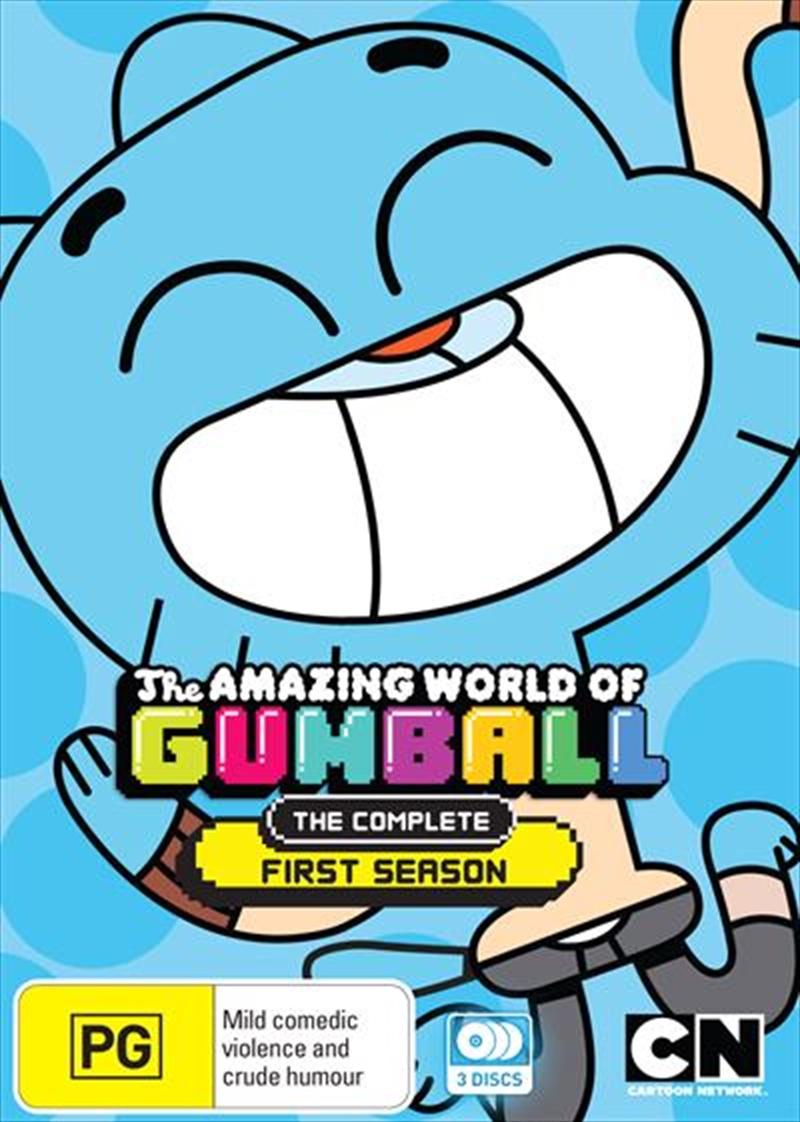 Amazing World Of Gumball - Season 1, The | DVD