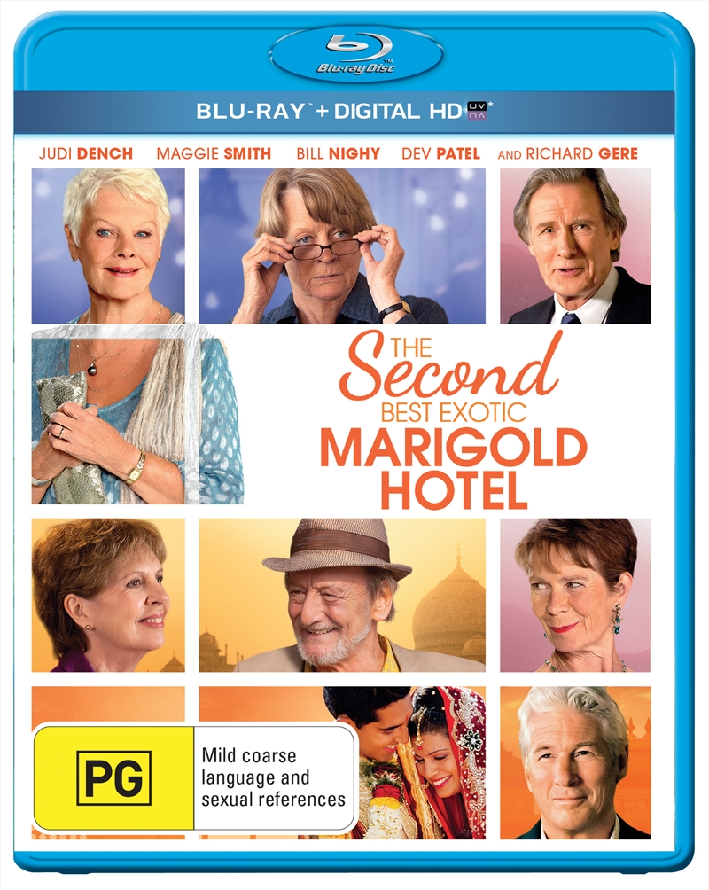 Second Best Marigold Hotel, The | Blu-ray