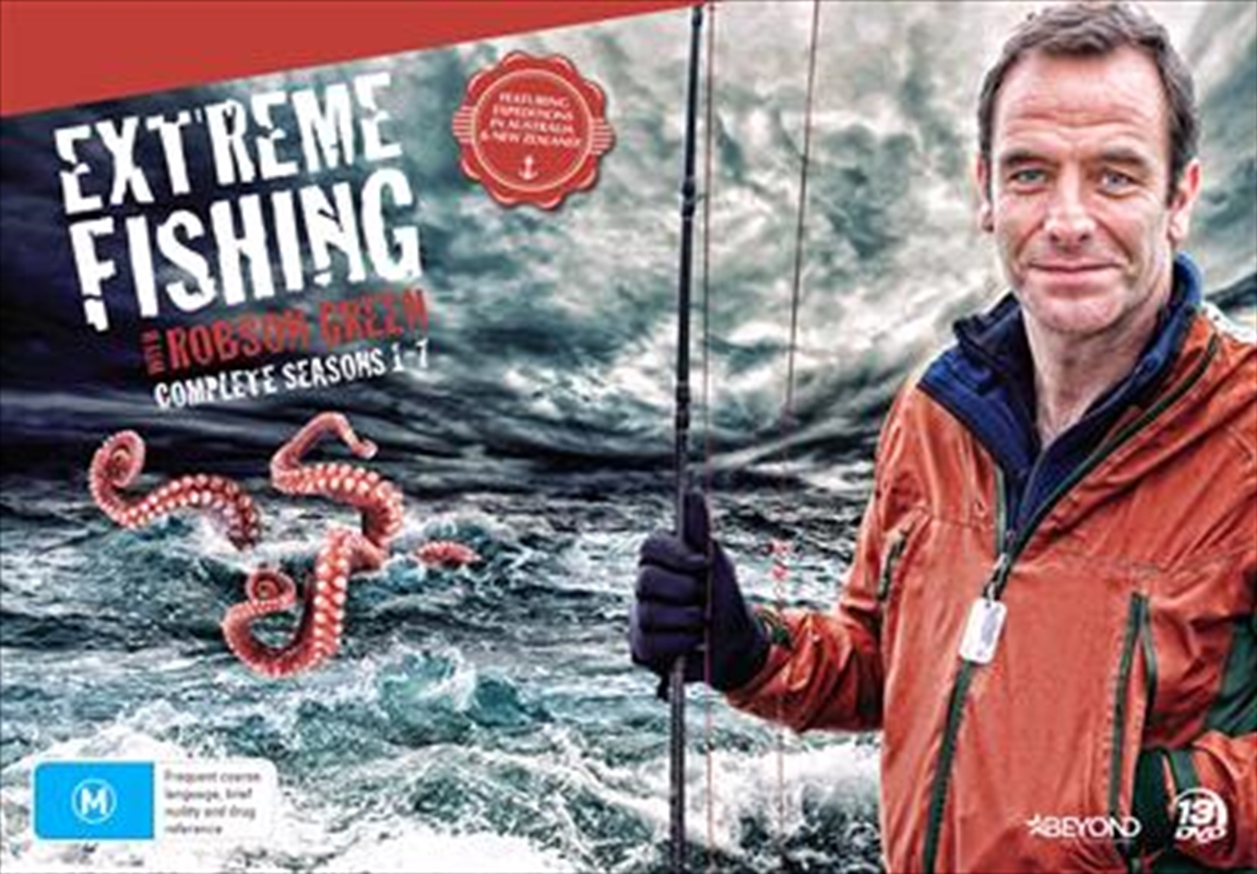 Extreme Fishing With Robson Green - Season 1-7 - Collector's Edition | DVD
