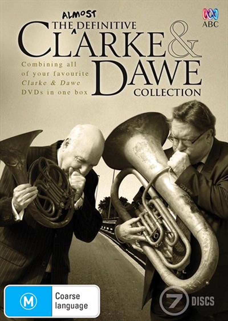 Clarke and Dawe | Boxset - The Almost Definitive Collection | DVD