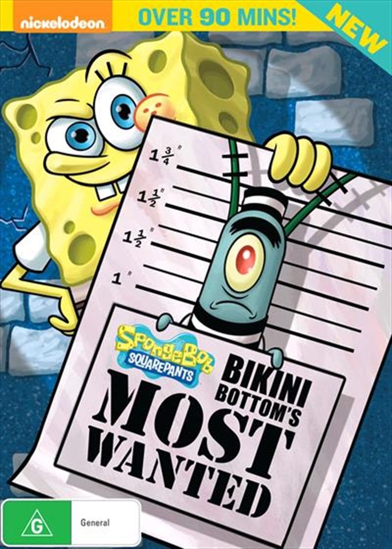 Spongebob Squarepants - Bikini Bottom's Most Wanted | DVD