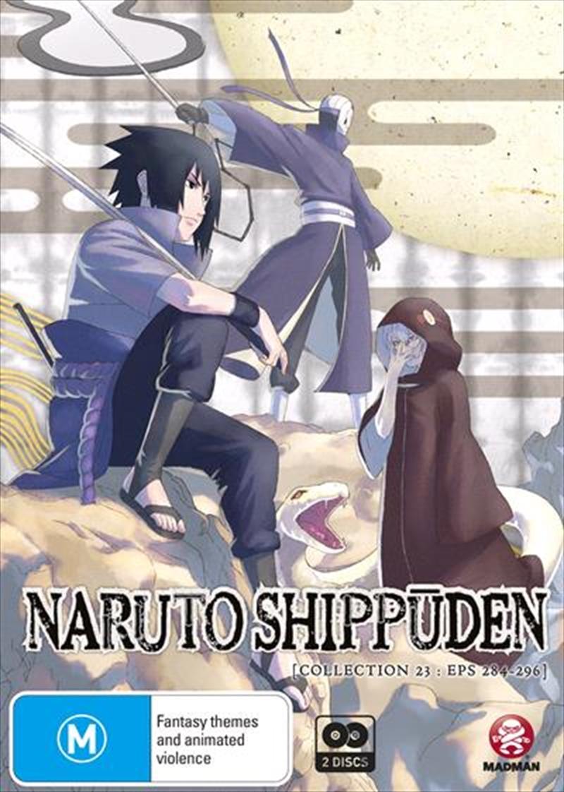 Naruto Shippuden - Collection 23 - Eps 284-296 | DVD