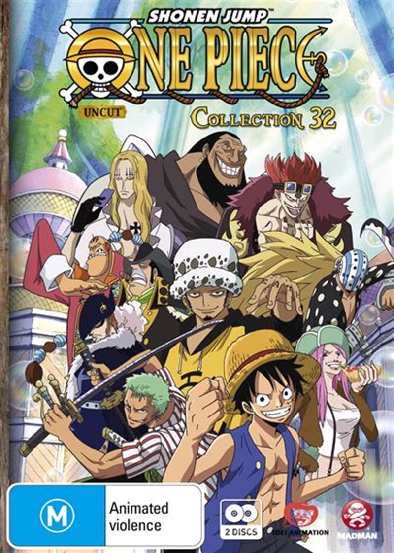 One Piece - Uncut - Collection 32 - Eps 385-396 | DVD