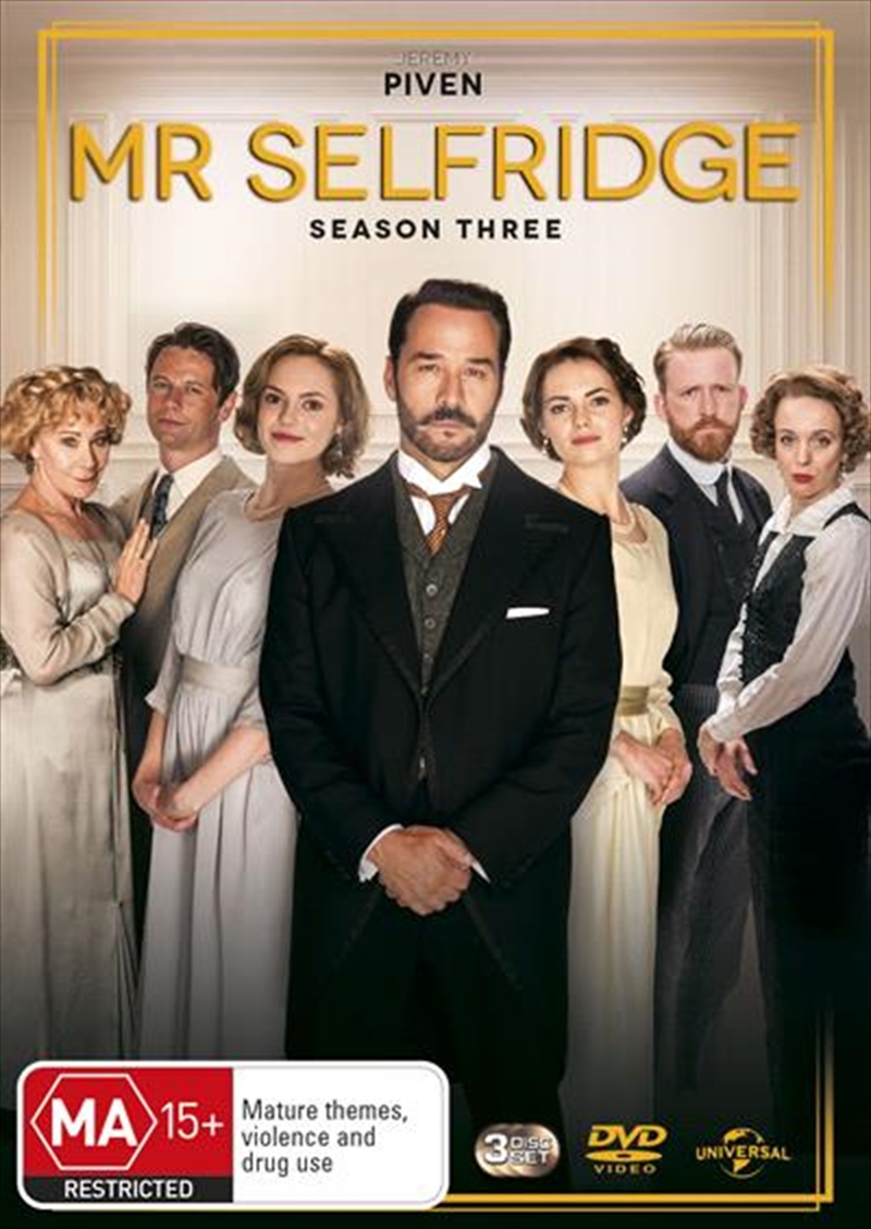 Mr. Selfridge - Season 3 | DVD