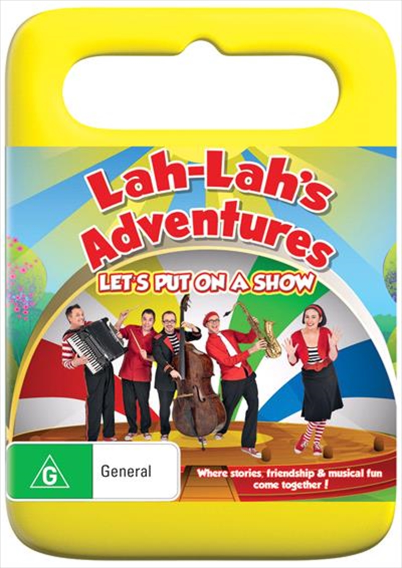 Lah Lah's - Let's Put On A Show | DVD
