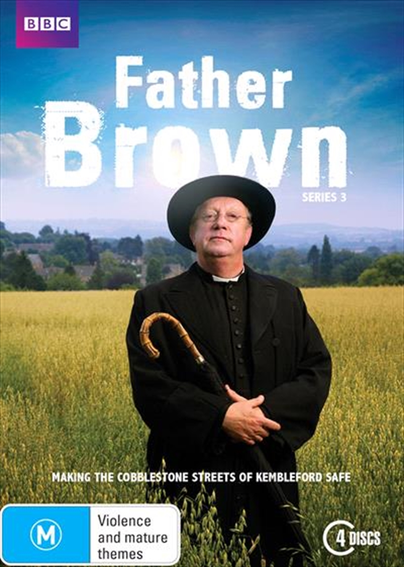 Buy Father Brown Series 3 On Dvd Sanity Online