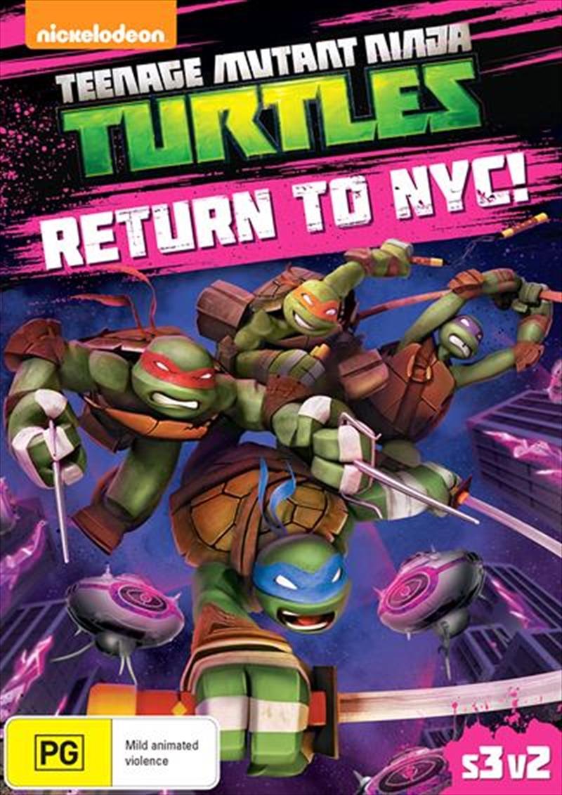 Teenage Mutant Ninja Turtles - Return To NYC!   DVD
