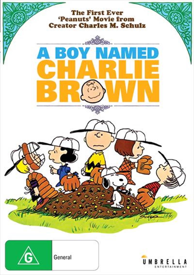 A Boy Named Charlie Brown | DVD