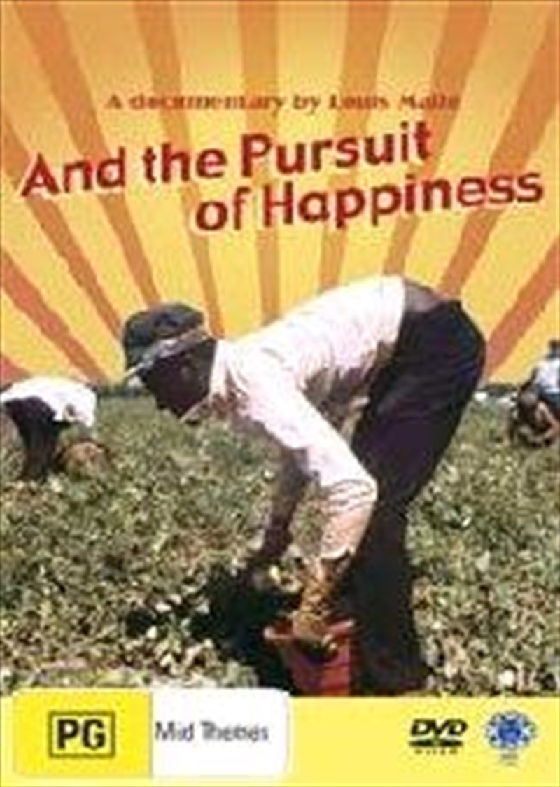 And The Pursuit Of Happiness   DVD