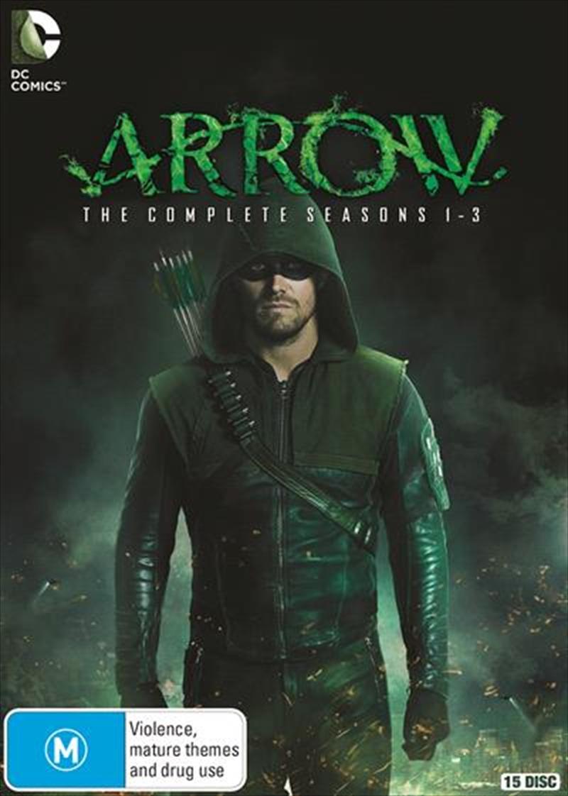 Arrow - Season 1-3 | Boxset | DVD