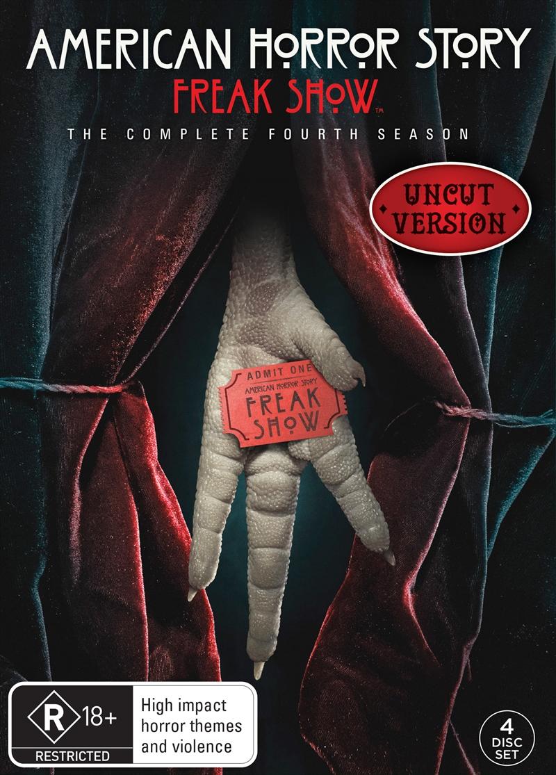 American Horror Story - Season 4 (EXCLUSIVE ARTWORK) | DVD