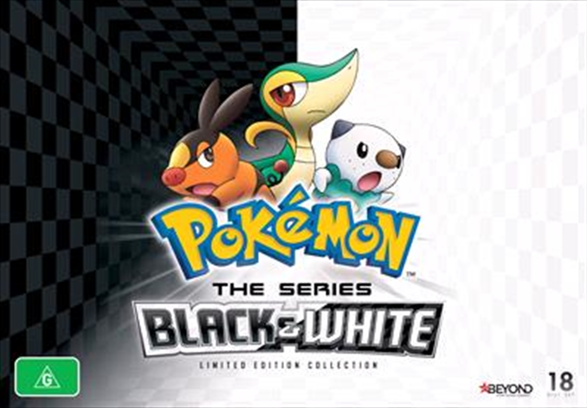 Pokemon - Black and White | Collector's Gift Set | DVD