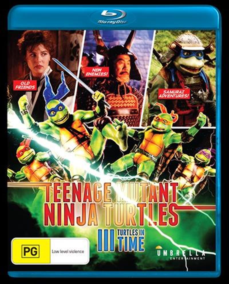Teenage Mutant Ninja Turtles 3 - Turtles In Time | Blu-ray