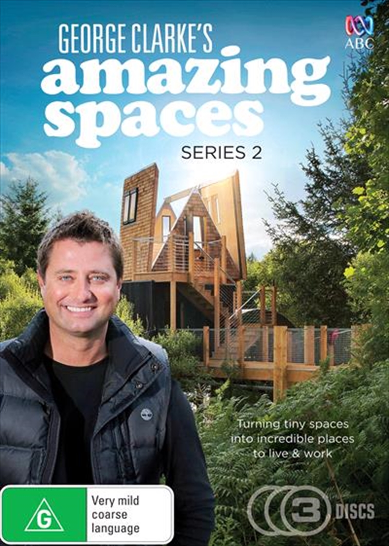 George Clarke's Amazing Spaces - Series 2 | DVD