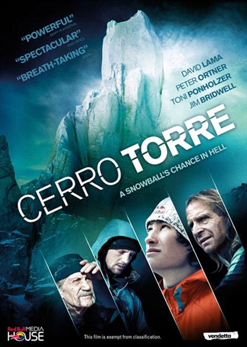 Cerro Torre - A Snowball's Chance In Hell | DVD