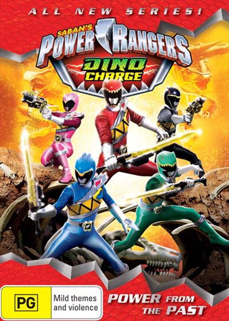 Dino Charge - Power From The Past | DVD