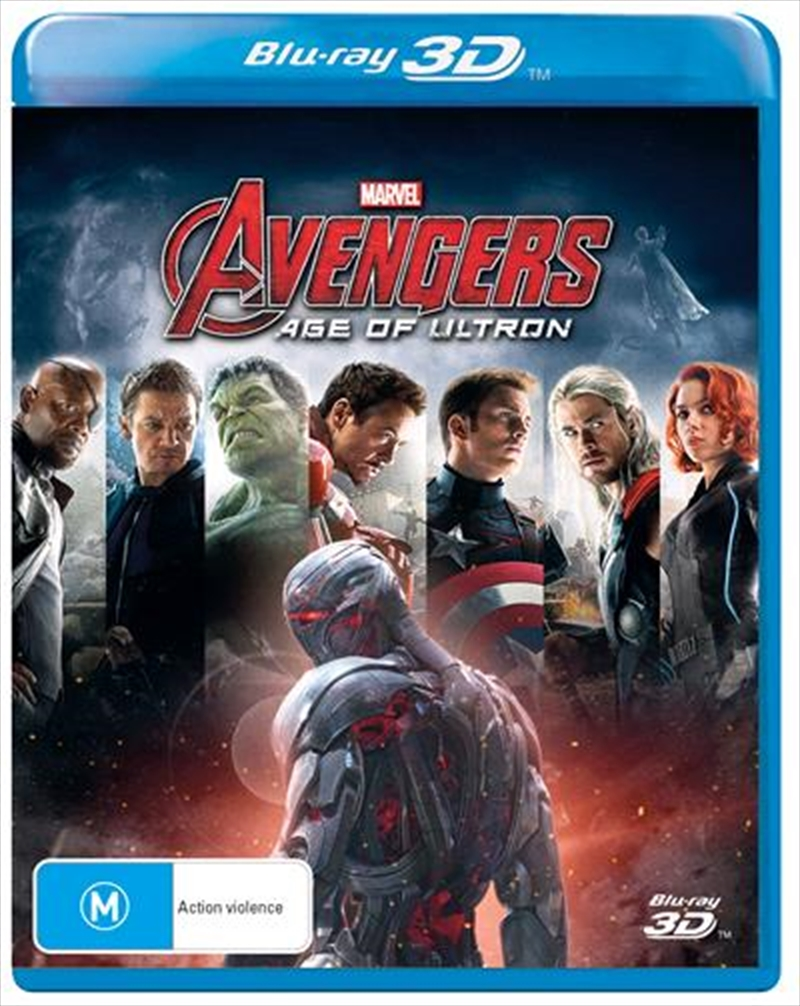 Avengers: Age Of Ultron | Blu-ray 3D