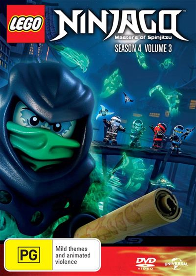 LEGO Ninjago - Masters of Spinjitzu - Series 4 - Vol 3 | DVD
