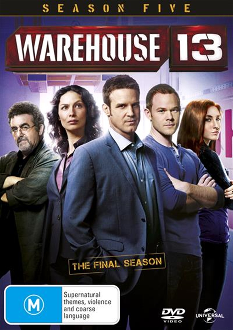 Warehouse 13 - Season 5 | DVD