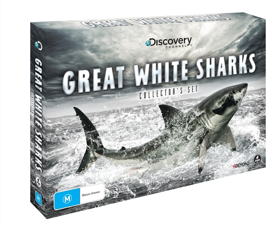 Buy Great White Sharks Collector S Set On Dvd Sanity