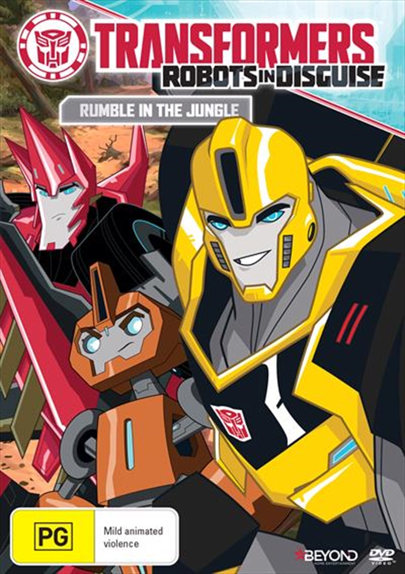 Transformers - Robots In Disguise - Rumble In The Jungle | DVD