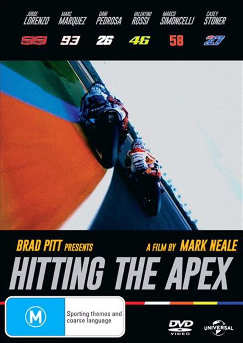 Hitting The Apex | DVD