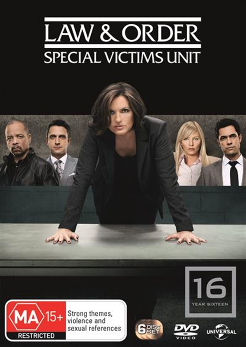 Law And Order: Special Victims Unit - Season 16 | DVD