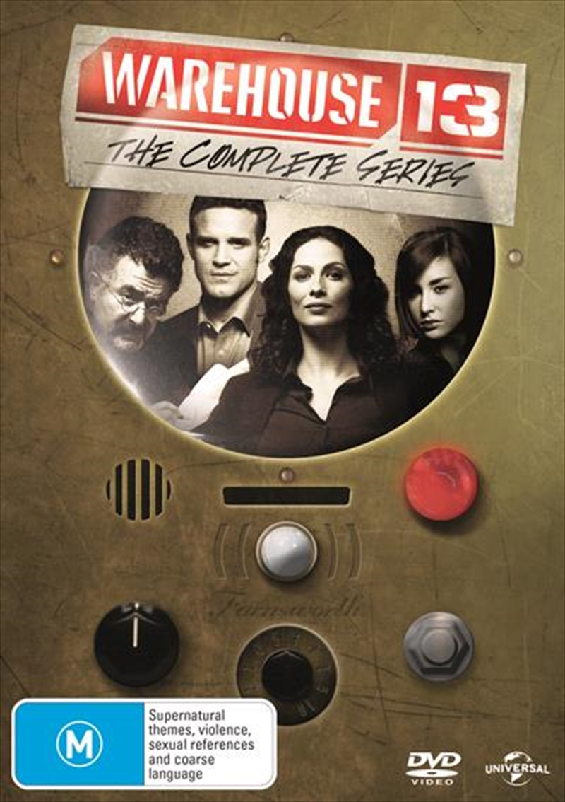 Warehouse 13 - Season 1-5 | Boxset | DVD