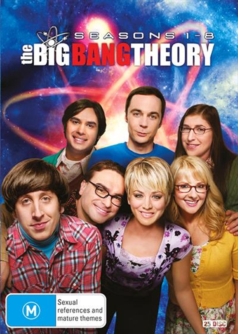 Buy Big Bang Theory Season 1 8 Boxset Sanity