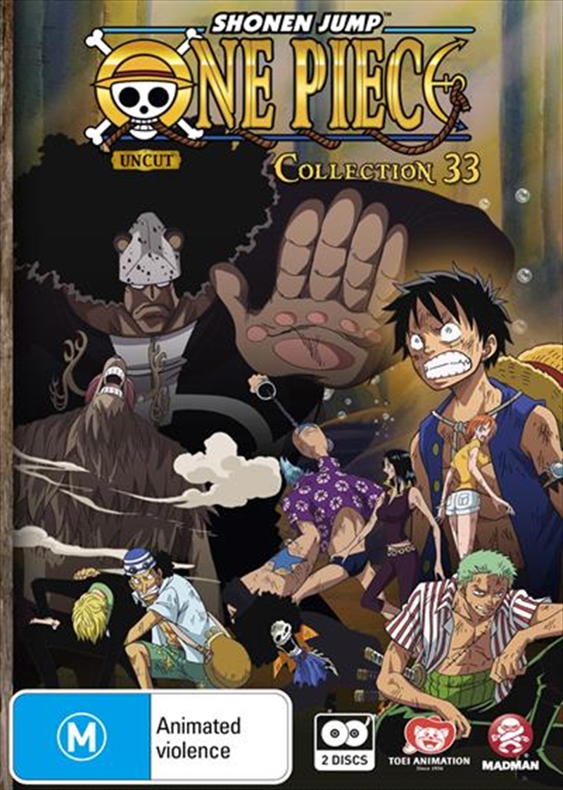 One Piece - Uncut - Collection 33 - Eps 397-409 | DVD