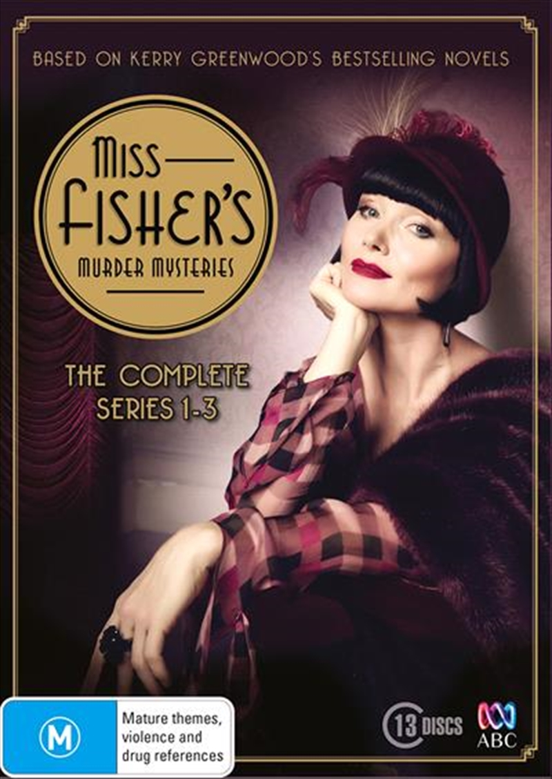 Miss Fisher's Murder Mysteries - Series 1-3 | Boxset | DVD