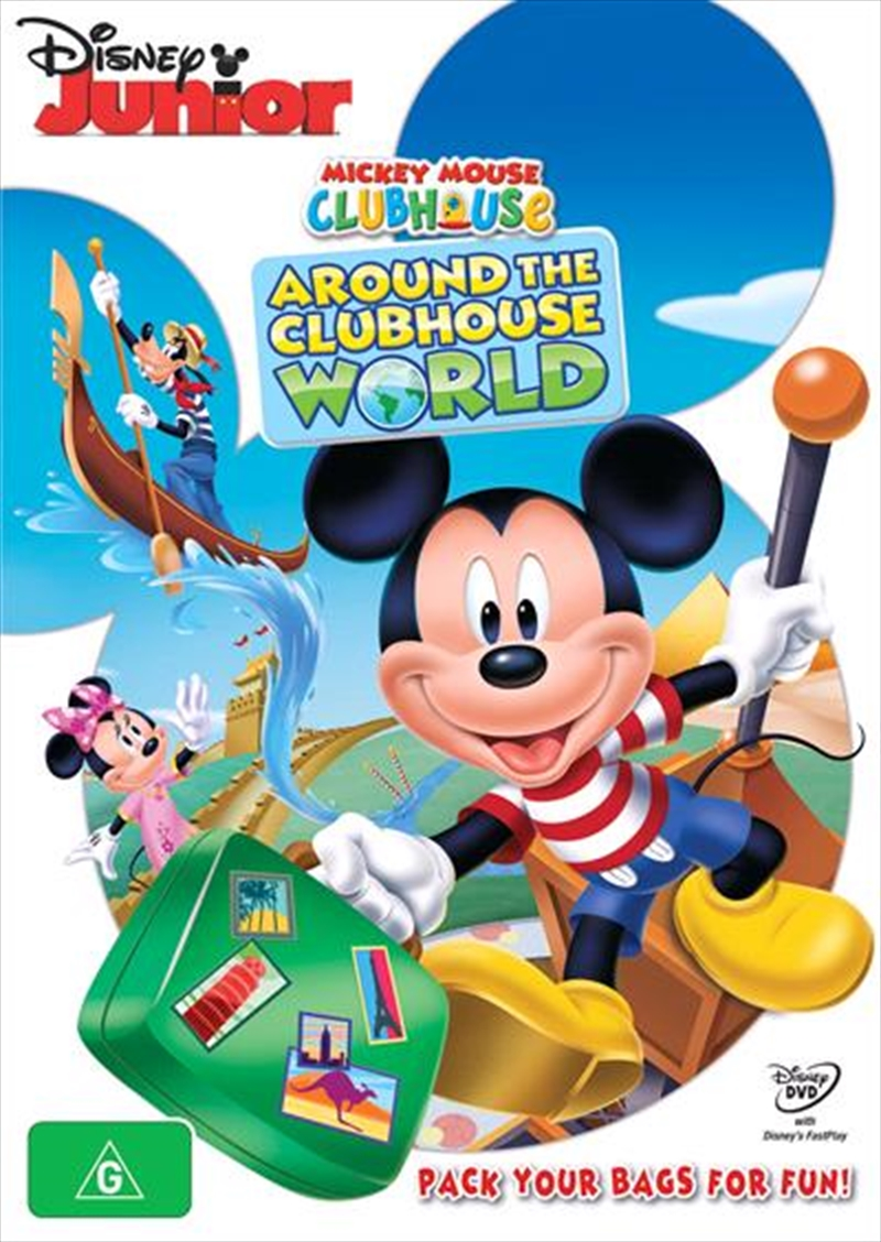 Mickey Mouse Clubhouse - Around The Clubhouse World | DVD