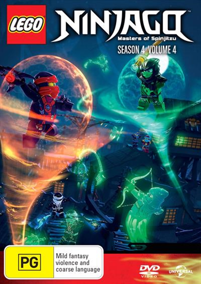 LEGO Ninjago - Masters of Spinjitzu - Series 4 - Vol 4 | DVD