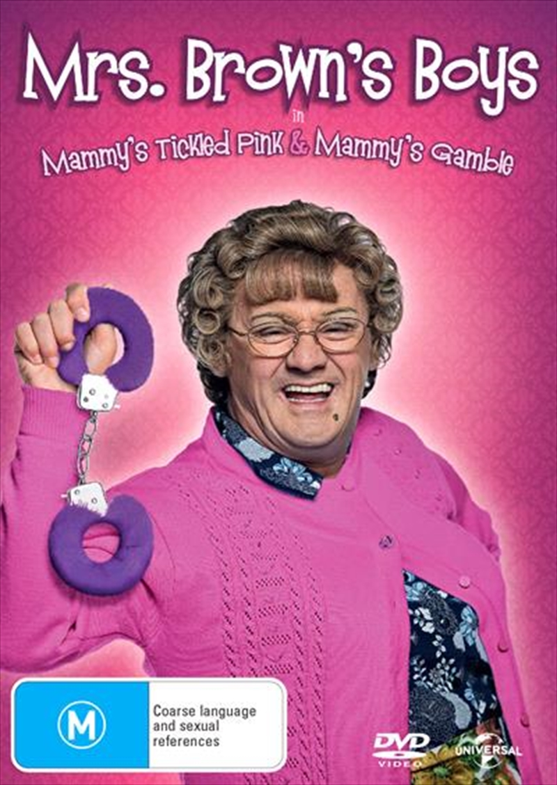 Mrs. Brown's Boys - Mammy's Tickled Pink / Mammy's Gamble | DVD