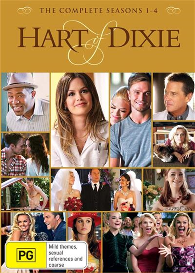Hart Of Dixie - Season 1-4 | Boxset | DVD