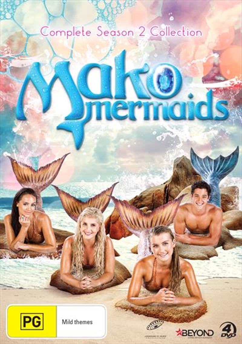 Mako Mermaids - Season 2   DVD