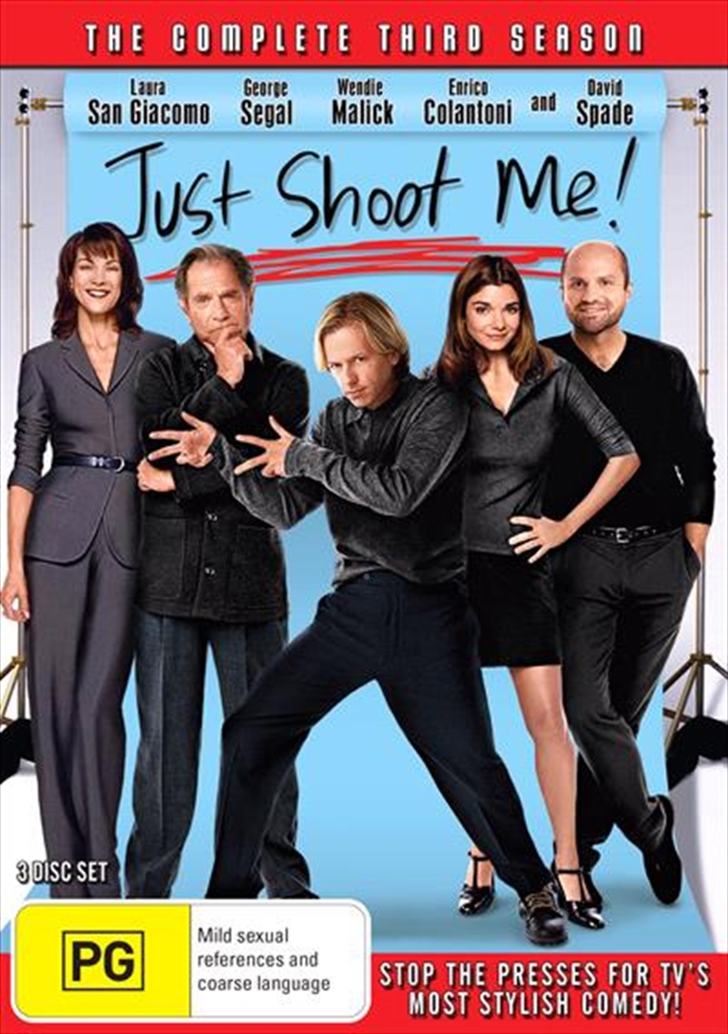 Just Shoot Me! - Season 3 | DVD